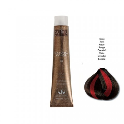 COLORATION SANS PPD - SOL.FINE - MIX & MECHES ROUGE - 100 ml