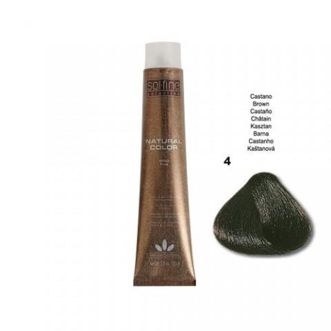COLORATION SANS PPD - SOL.FINE - CHÂTAIN N° 4 - 100 ml