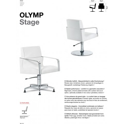 FAUTEUIL OLYMP STAGE