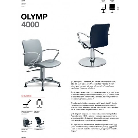 FAUTEUIL OLYMP 4000