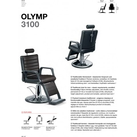 FAUTEUIL OLYMP 3100