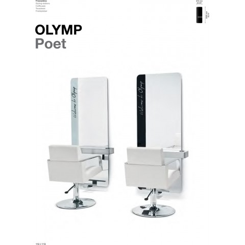 TABLE DE COIFFAGE OLYMP POET