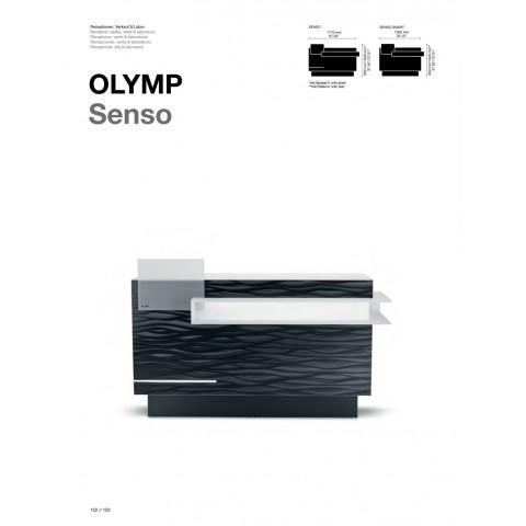 COMPTOIR RECEPTION OLYMP SENSO