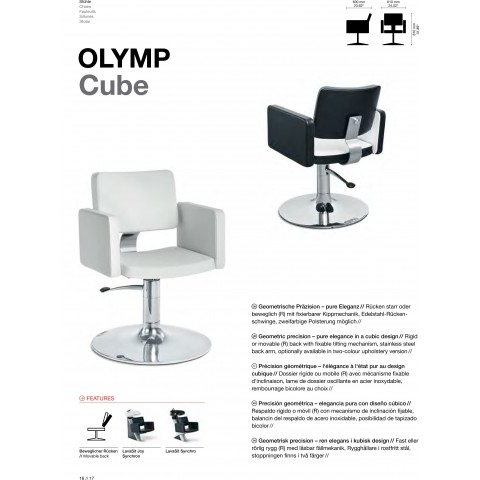 FAUTEUIL OLYMP CUBE