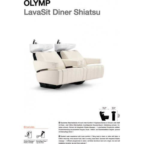 BAC A SHAMPOING OLYMP LAVASIT DINER
