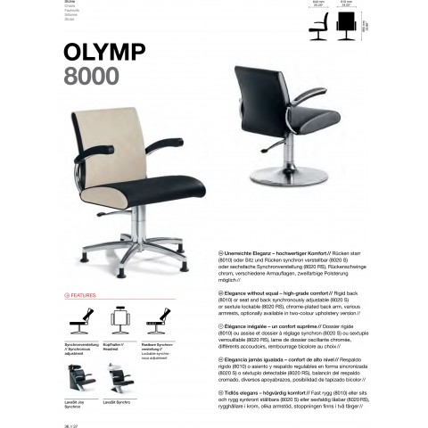 FAUTEUIL OLYMP  8000
