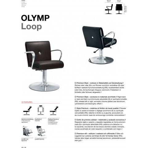 FAUTEUIL OLYMP LOOP