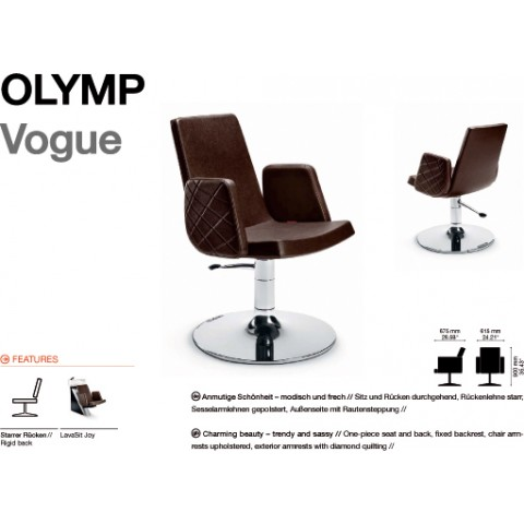 FAUTEUIL OLYMP VOGUE