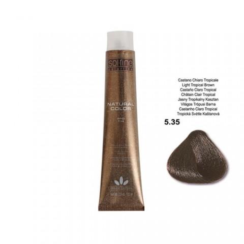 COLORATION SANS PPD - SOL.FINE - CHATAÏN TROPICAL  N° 5 . 35 - 100 ml