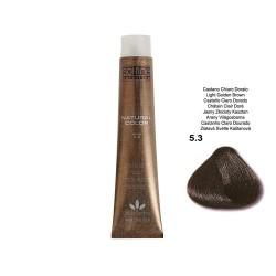 COLORATION SANS PPD - SOL.FINE - CHATAÏN CLAIR DORE  N° 5 . 3 - 100 ml