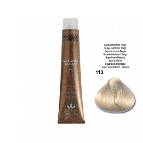 COLORATION SANS PPD - SOL.FINE - SUPER ECLAICISSANT BEIGE  N° 113 - 100 ml