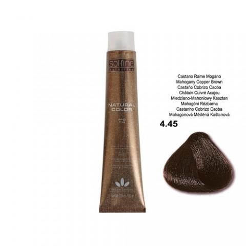 COLORATION SANS PPD - SOL.FINE - CHATAÏN CUIVRE ACAJOU  N° 4 . 45 - 100 ml