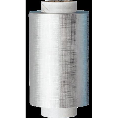 Rouleau d'Aluminium Gaufrée Argent de Qualité Premium 15 Microns