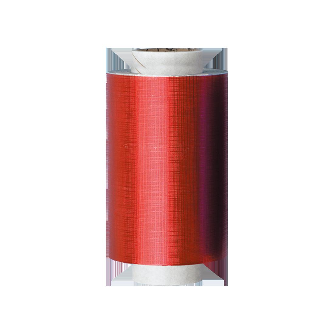 Rouleau d'Aluminium Gaufrée Rouge de Qualité Premium 15 Microns
