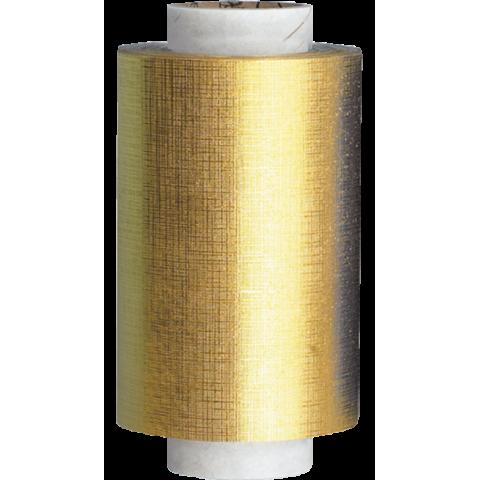 Rouleau d'Aluminium Gaufrée Or de Qualité Premium 15 Microns