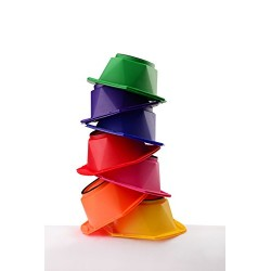 Lot de 7 BOLS Collection Arc en ciel (Rainbow)