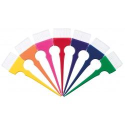 Lot de 7 Pinceaux Large Arc en ciel (Rainbow)
