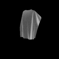 CAPE PEIGNOIR JETABLE Noir Longue x 25