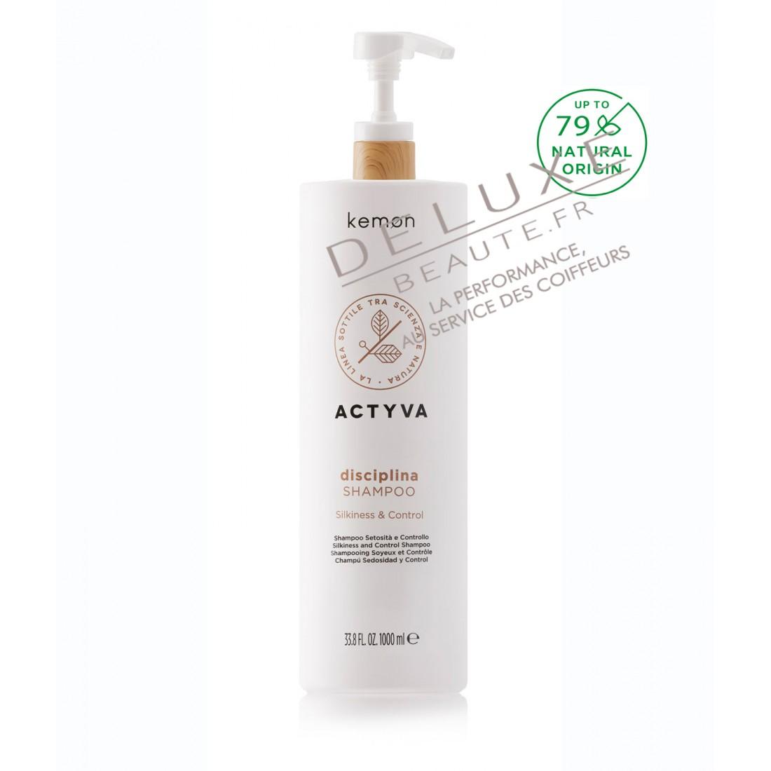 Shampoing ACTYVA DISCIPLINA Cheveux Frisés 1000 ml VELIAN COMPLEX
