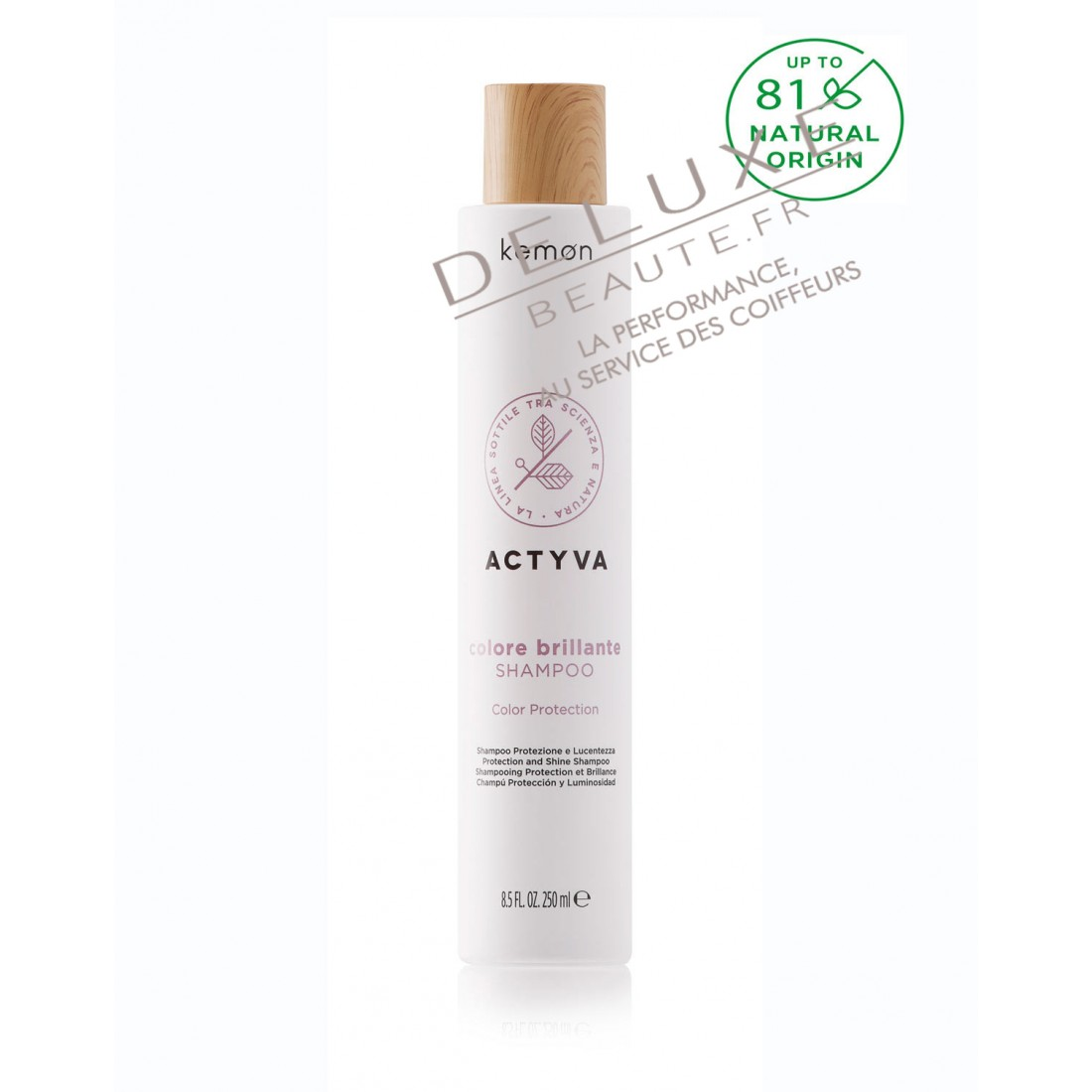 SHAMPOING COLORE BRILLANTE ACTYVA Cheveux Colorés VELIAN Complex