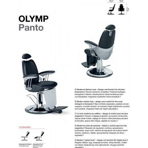 FAUTEUIL OLYMP PANTO