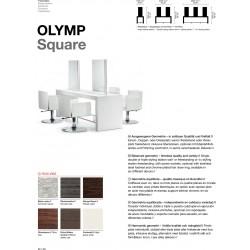 TABLE DE COIFFAGE OLYMP SQUARE