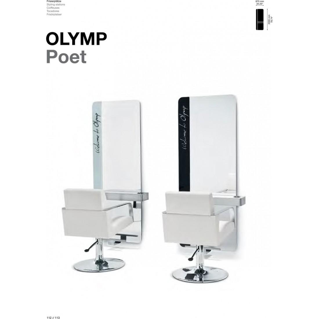 TABLE DE COIFFAGE OLYMP POET