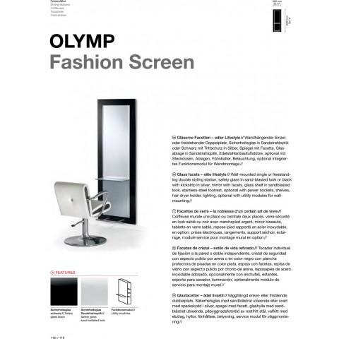 TABLE DE COIFFAGE OLYMP FASHION SCREEN