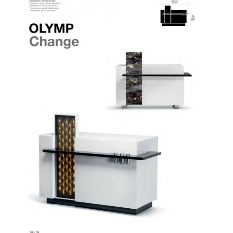 COMPTOIR RECEPTION OLYMP CHANGE