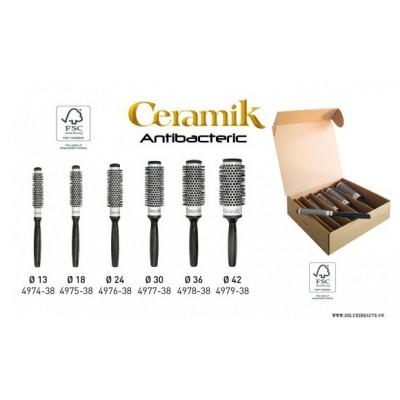 Brosses CERAMIK Antibacteric Noire
