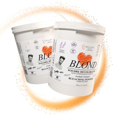 POUDRE DECOLORANTE Sans Ammoniaque  LOVE BLOND