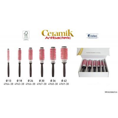 Brosses CERAMIK Antibacteric brushing-coiffage