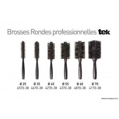 Brosses rondes TEK Professionnel Brushing - Coiffage